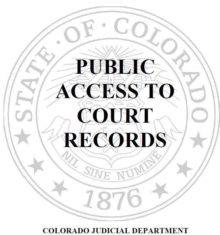 Colorado Judicial Branch Administration Court Services