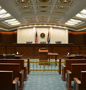 Colorado Court of Appeals Courtroom at the Ralph L. Carr Colorado Judicial Center