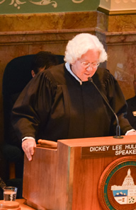 Chief Justice Rice delivers the 2015 State of the Judiciary