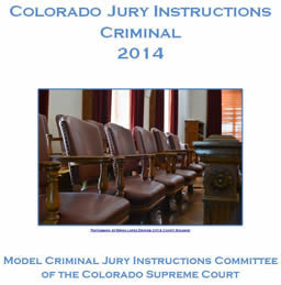 Colorado Criminal Jury Instuctions (PDF)
