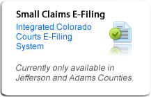 Small Claim E-Filing